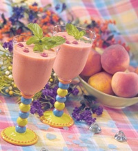 Peach Melba Smoothies for Two. (Gluten-Free) from Springfield Clinic's health library.